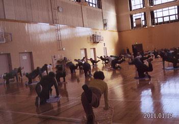 厚生年金スポーツセンタートリム体操協会(水)の活動風景